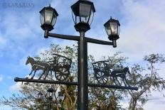 Lamp Post along Quezon Ave. Bridge
