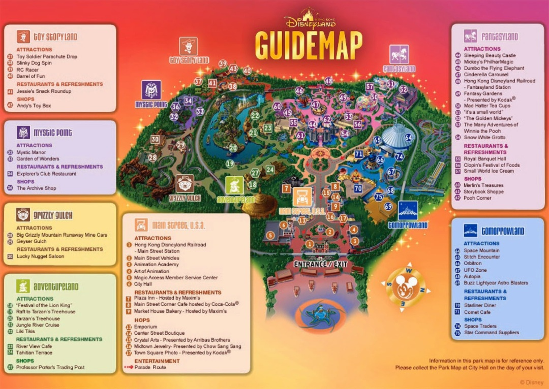 Hong-Kong-Disneyland-Map