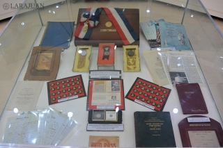 Campaign materials and other awards of Roxas